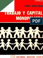 Harry Braverman Trabajo y Capital Monopolista Ocr