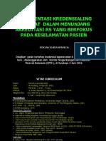 PPNI (2016) Implementasi Kredenisal Perawat Dalam Menunjang Akreditasi Rumah Sakit Yang PCC DAN PS