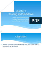 Linux - Booting and Shutdown
