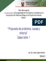 5_Propuesta Del Problema, Causas y Efectos