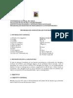 UACH INFE356 Estética y Teoría de Las Artes