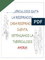 Afiche Tuberculosis