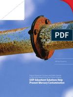 UOP Mercury Removal for Natural Gas Production Brochure