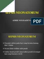 Sepsis Neonatorum PONEK