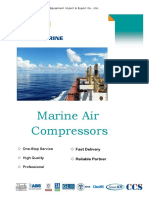 Marine Air Compresors