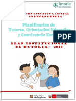 Toe Plan de Tutoria y Convivencia Escolar