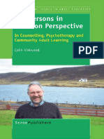 [International Issues in Adult Education 9] Colin Kirkwood (auth.), Colin Kirkwood (eds.) - The Persons in Relation Perspective_ In Counselling, Psychotherapy and Community Adult Learning (2012, SensePublishers).pdf
