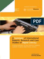 201001 Digital Literacy Research Report