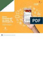 Guía de Uso de Redes Sociales en Emergencia
