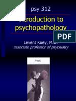 Psy 312 Psychpathology 01