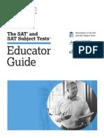 PDF Sat Educator Guide
