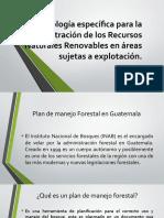 Presentacion Metodología Específica Para La Administración de Los Recursos