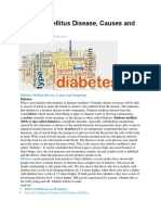 Diabetes Mellitus Disease