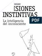 Cap 1 Decisiones Instintivas