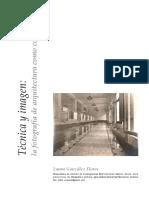 Técnica y Imagen - La Fotografía de Arquitectura Como Concepto