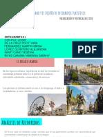 El Paisaje Urbano y El Diseño de Recorridos Turísticos, Valoración Del Sitio y Su Potencial