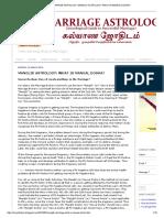 Marriage Astrology_ Manglik Astrology_ What is Mangal Dosha