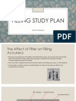 Filling Study PlaN