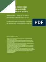 A Comunicação Como Estratégia Para a Participação Do Cidadão No Estado Democrático de Direito _ Cerqueira Reis _ Revista Organicom