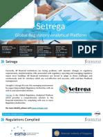 Setrega-Regulatory Reporting Platform