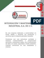 Presentaciòn JJ Services