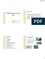 Traffic Impact Assessment Final