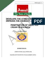 Training Report on Amul