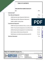 P1 - Seismic Mouting Brackets