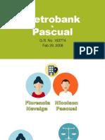 Metrobank v Pascual (Art 493)