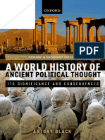 A World History of Ancient Political Thought Its Significance and Consequences