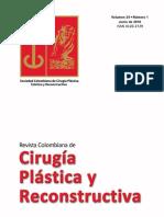 Cirugia Plástica y Reconstructiva Volumen 24 Nº 1 Junio 2018.pdf