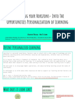 personalised learning - dannikea holtom