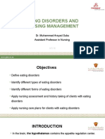 Eating Disorders and Nursing Care