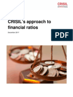 CRISILs Approach to Financial Ratios