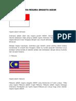 NEGARA-negara Asean Dan Pengertiannya