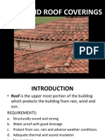Roof and Roof Coverings