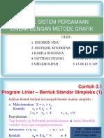 Resume Metode Simplek