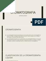 Cromatografia e Intercambio Ionico.
