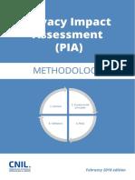 Cnil Pia 1 en Methodology