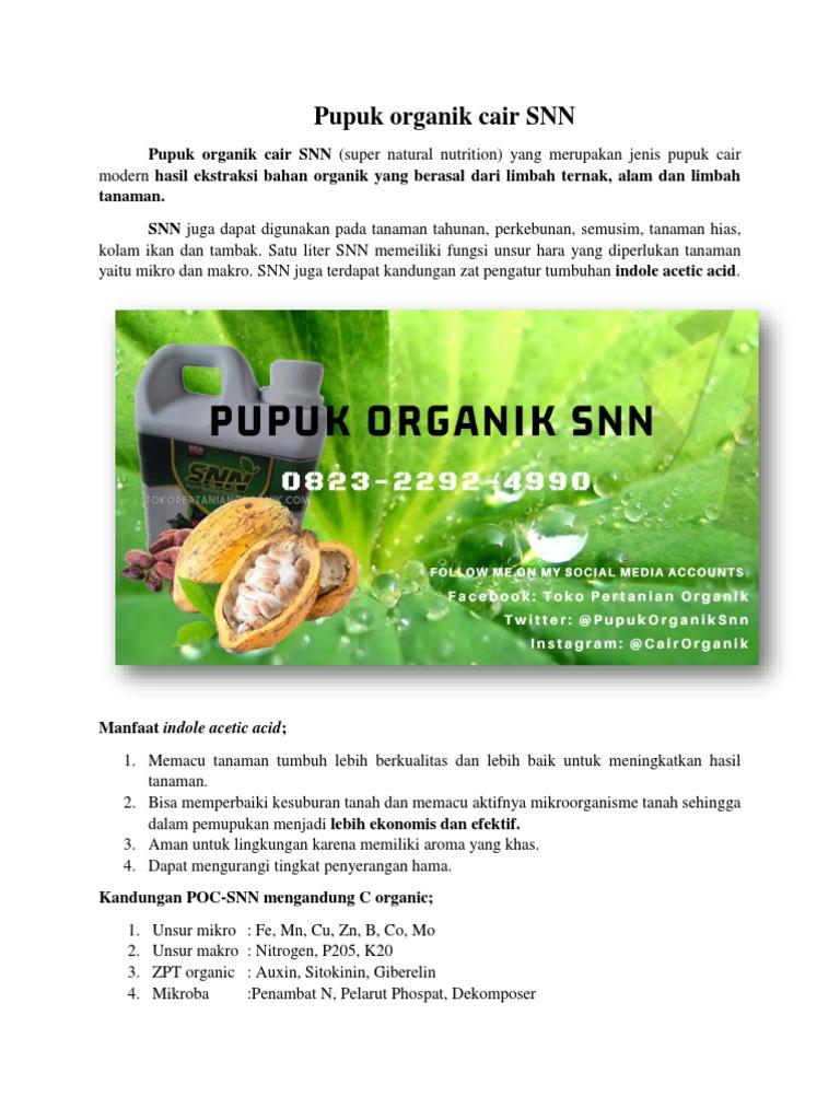 Murah 082322924990 Jual Pupuk Organik Cair Di Sumatra Harga Tabah Media Tanam Snn Poc