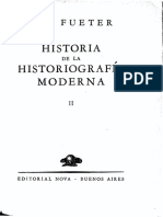 Historia de la historiografía moderna, tomo II - Eduard Fueter.pdf