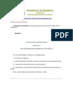 LCP-Lei das Contravenções Penais