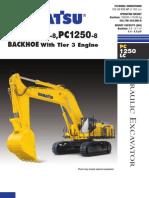 Komatsu PC1250 Excavator