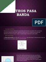 Filtros Pasa Banda