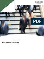 054581ATG0 Fire Alarm Product Catalog 2017- Austria