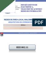 3a Redes de Área Local Inalámbrica - Arquitectura Estándar IEEE 802.11
