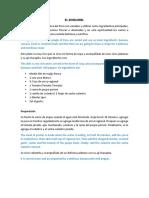 Preparacion Del CHIRUMBI en Español e Ingles