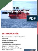 Contratato de Transporte Maritimo