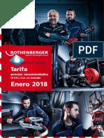 Tarifa ROTHENBERGER 2018 Saneamador