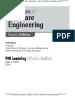 Pdfsecret.com Fundamentals of Software Engineering Fourth Edition Rajib Mall